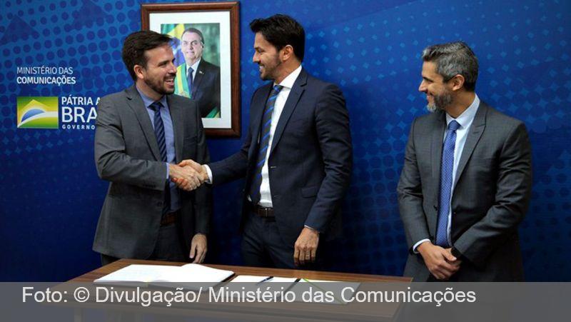 Carlos Manuel Baigorri toma posse como diretor da Anatel