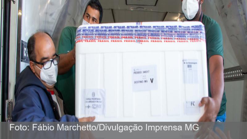 Vacinas contra a Covid-19: Zona da Mata e Vertentes recebem 13º lote de AstraZeneca e CoronaVac