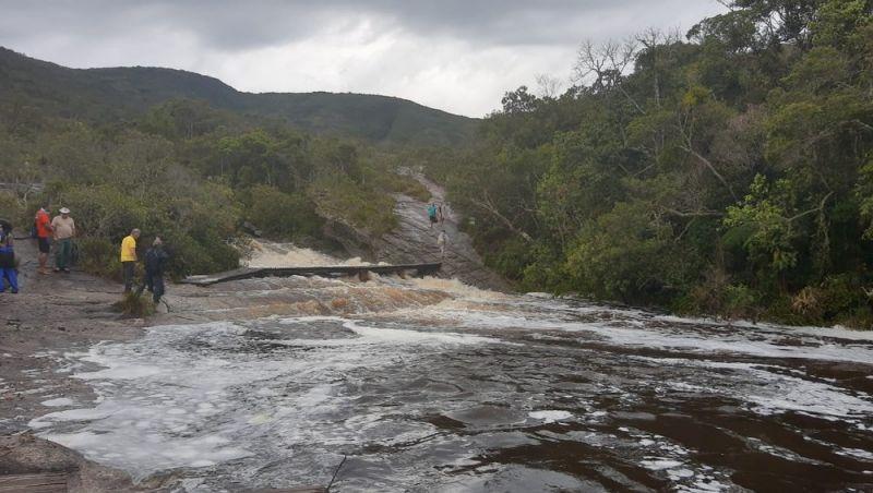 Após ser atingido por cabeça d'água, Parque Estadual de Ibitipoca funciona normalmente nesta semana