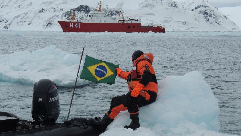 Chile poderá ser parceiro na construção de navio antártico do Brasil