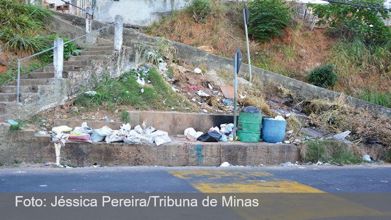 Descarte irregular de lixo é frequente em 60 pontos de Juiz de Fora