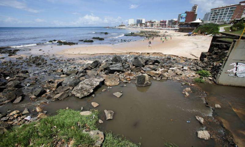 Praias 'paradisíacas' estão impróprias para banho