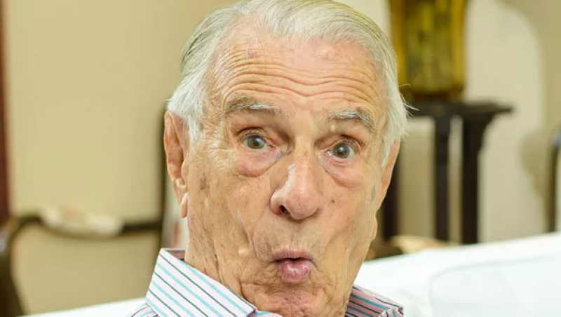 Prestes a fazer 100 anos, Orlando Drummond faz balanço: 'Tenho saudade da minha vida toda'