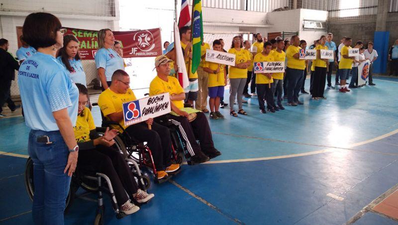 """""""11ª Semana Paralímpica"""": emoção e superação no evento de abertura em Juiz de Fora"""