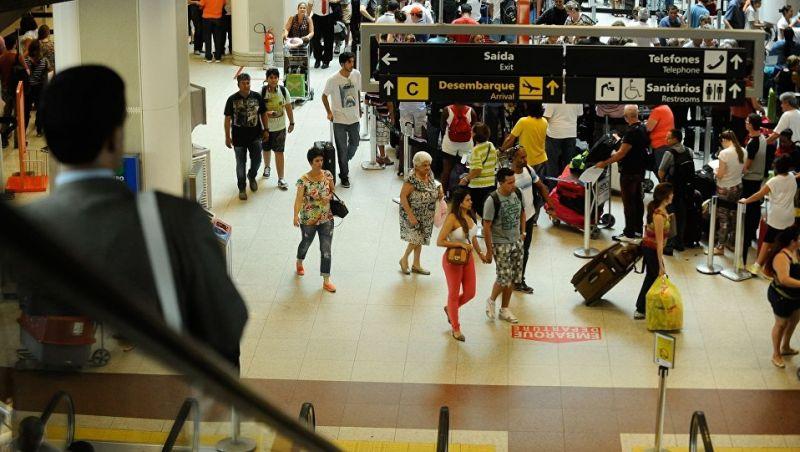 Número de turistas estrangeiros no país bate recorde em 2017 e chega 6,5 milhões
