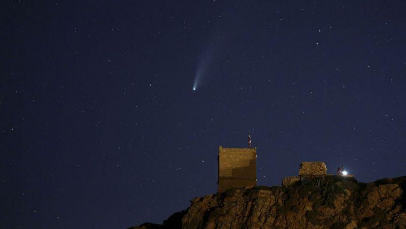 Cometa Neowise pode ser visto das regiões Sul e Sudeste do país