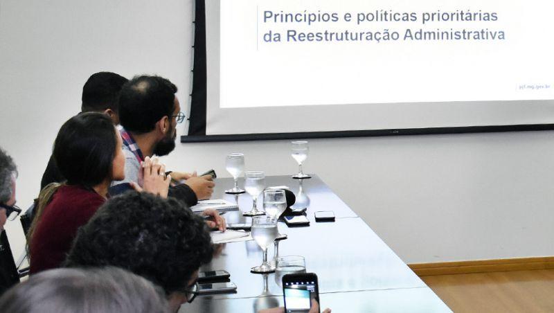 Prefeitura de Juiz de Fora apresenta proposta de reestruturação administrativa