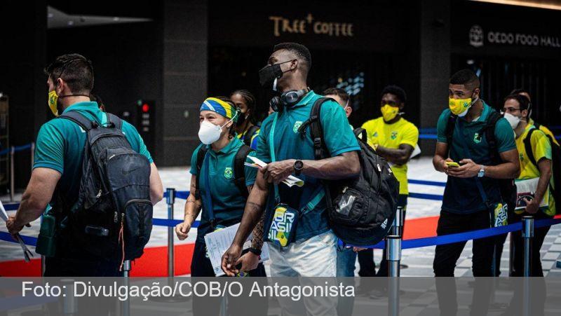 Brasil vai a Tóquio com 75% dos atletas vacinados; alguns recusaram