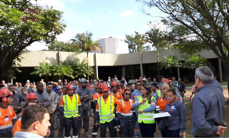 PJF participa de simulado sobre emergência em barragens