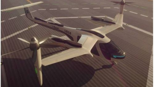Uber se junta à Nasa para colocar táxis voadores no ar em 2020