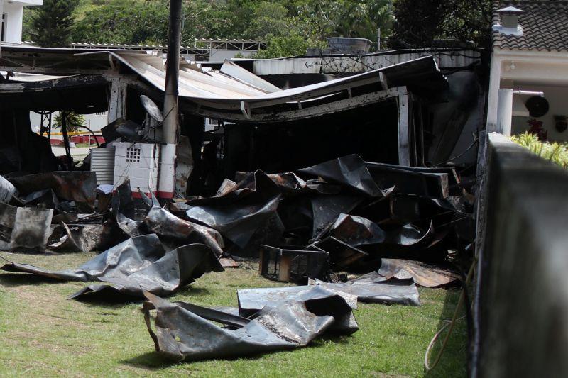 Flamengo acerta primeira indenização após incêndio