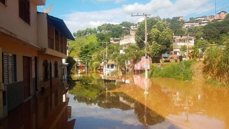 Chuvas na região deixam quatro mortos e 18 cidades em situação de emergência