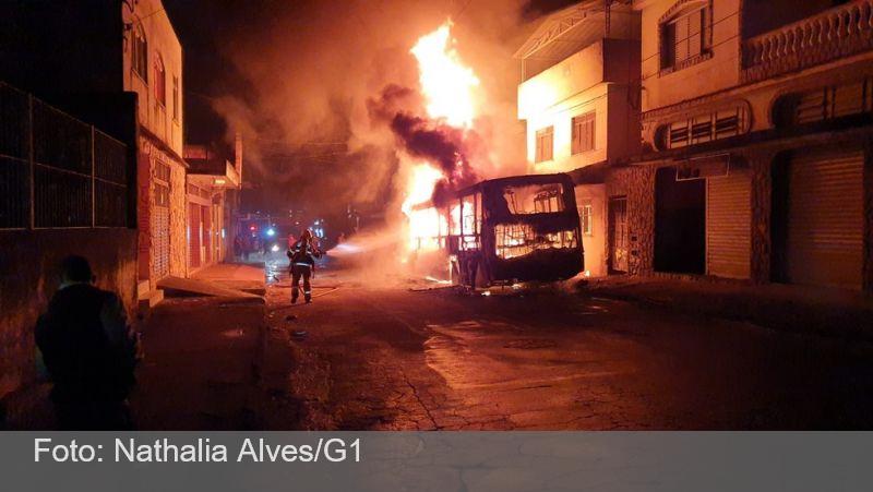 Polícia Civil investiga ônibus incendiado no Bairro São Benedito em Juiz de Fora