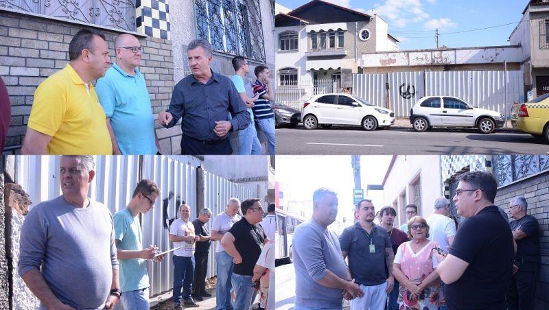 Fiscaliza JF ouve reivindicações da população que luta para construção da UBS do Manoel Honório