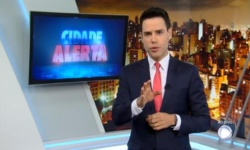 Com 15 pontos, Cidade Alerta chega a ficar à frente da Globo e eleva audiência do horário