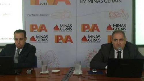 Governo de Minas divulga escala para pagamento do IPVA 2018