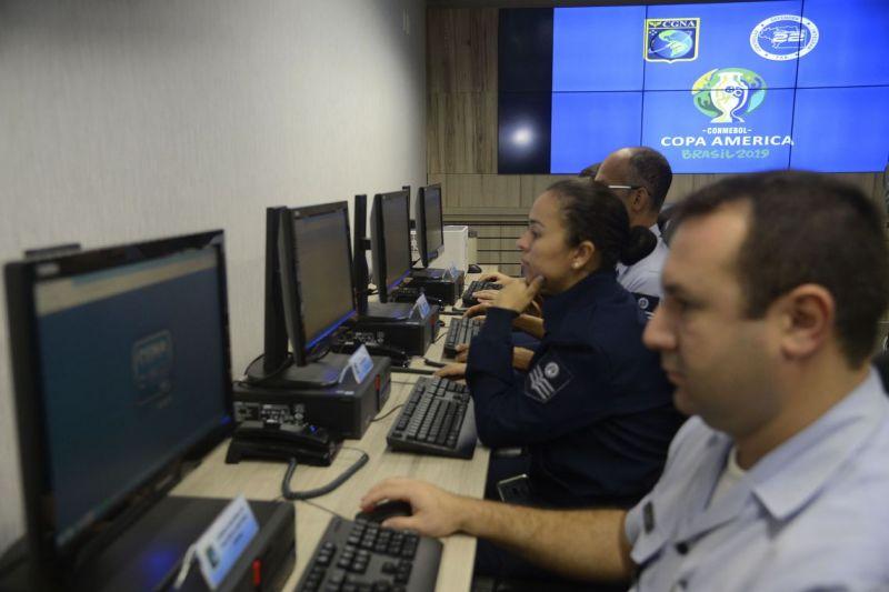 Aeronáutica inaugura sala de comando e controle para Copa América