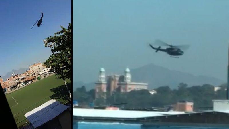 """""""É inaceitável ver helicóptero atirando', diz diretor de ONG na Maré"""