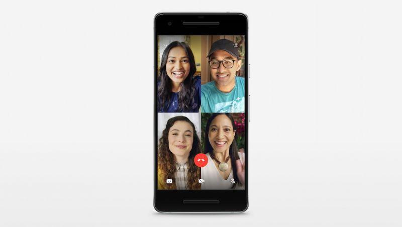 WhatsApp lança função de chamada de vídeo em grupo