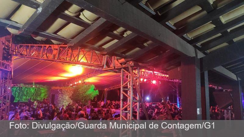 MG: Festa que reunia cerca de 600 pessoas é interrompida por fiscalização