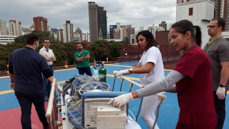 Doze meninas ficam queimadas ao acender churrasqueira em Itapecerica, MG