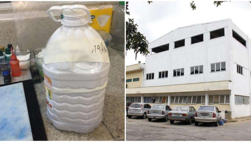 Hospital devolve rim em garrafa após atrasar exame
