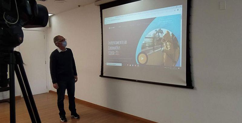 Prefeitura lança site com informações sobre o cenário da covid-19 em JF