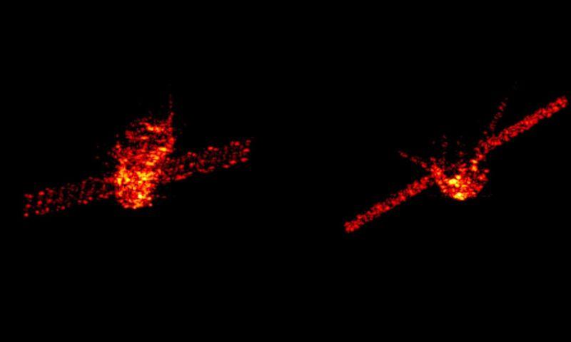 Foto mostra nave espacial chinesa perdida em queda no caminho de volta à Terra
