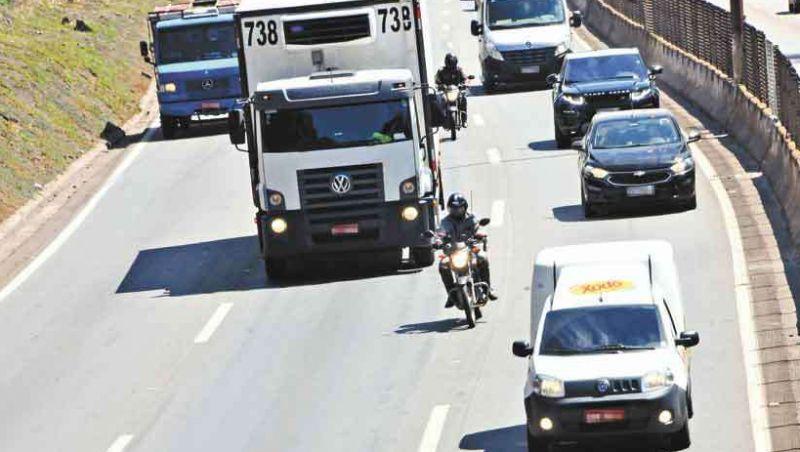 Minas tem 4 mortes em acidentes com motos por dia, em média, em dez anos