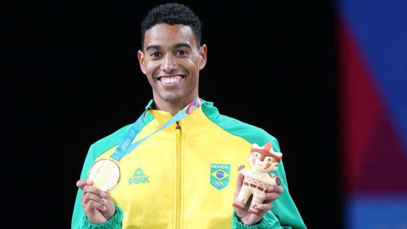 Pan: Ygor Coelho conquista ouro inédito no badminton