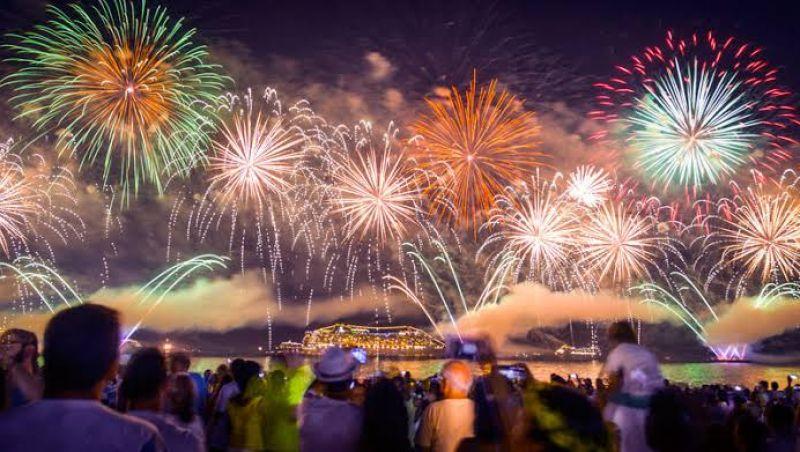 Municípios do estado do Rio promovem shows e queima de fogos na virada do ano