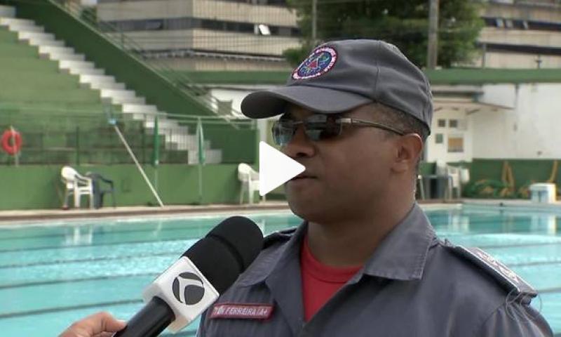Corpo de Bombeiros de Juiz de Fora reforça orientações para evitar afogamentos