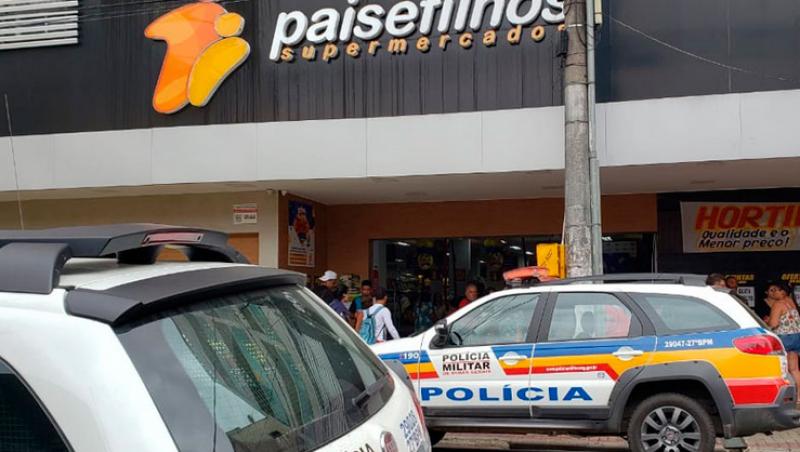 Homem é morto dentro de supermercado em Juiz de Fora