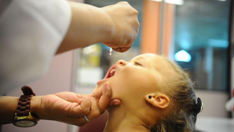 Dia D de vacinação contra pólio e sarampo será neste sábado