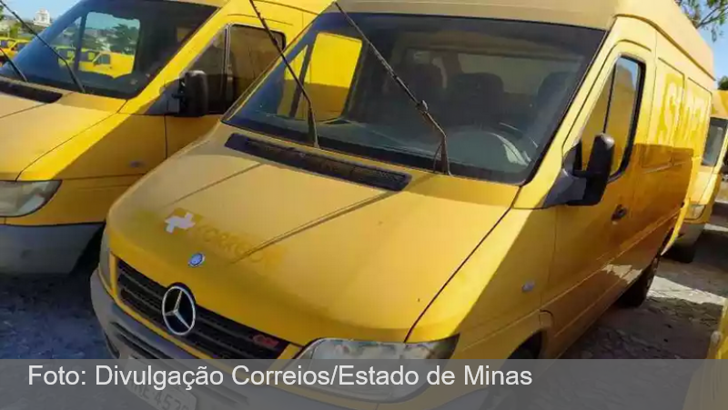 Correios realizam leilão online de 114 veículos para renovar a frota em MG