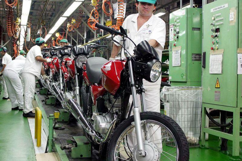Produção de motocicletas cresce 5,2% em setembro, diz Abraciclo
