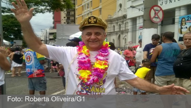 Após ser diagnosticado com Covid-19, morre Zé Kodak, um dos ícones do carnaval de Juiz de Fora