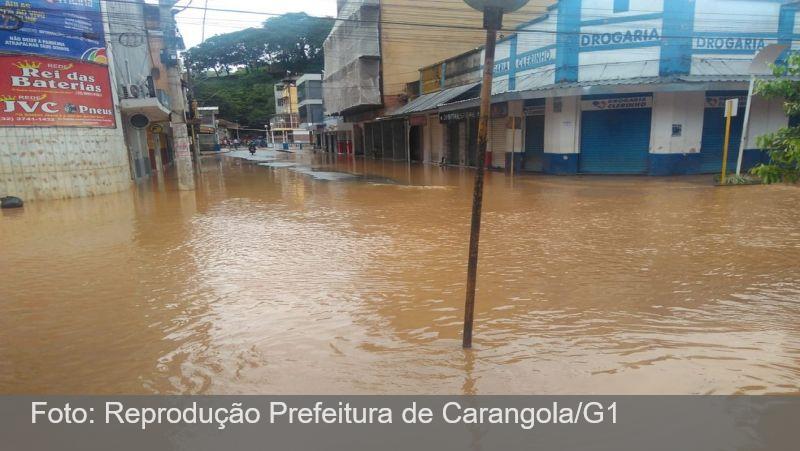 Estado antecipa parcelas do ICMS a municípios castigados pelas chuvas na Zona da Mata e Vertentes