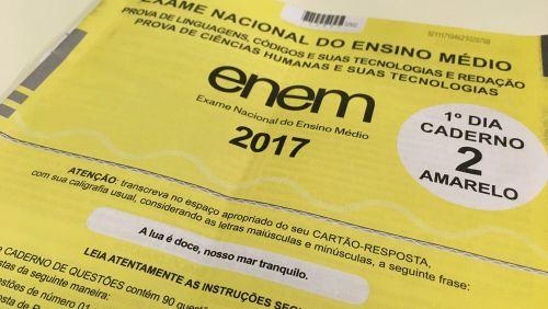 Candidato 'surta' e foge da sala com prova do Enem, diz Inep