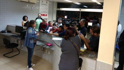 Roberta Miranda faz boletim de ocorrência após faltar a show