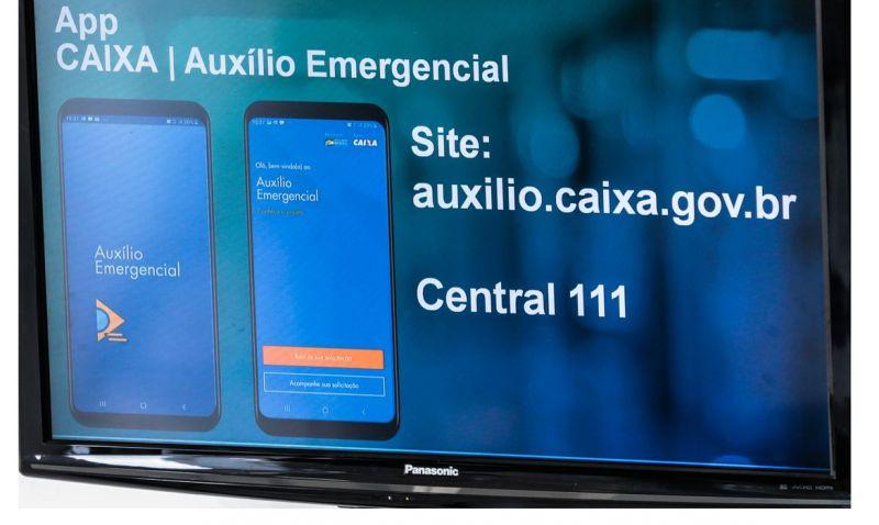 Caixa segue com pagamento de segunda parcela do auxílio emergencial