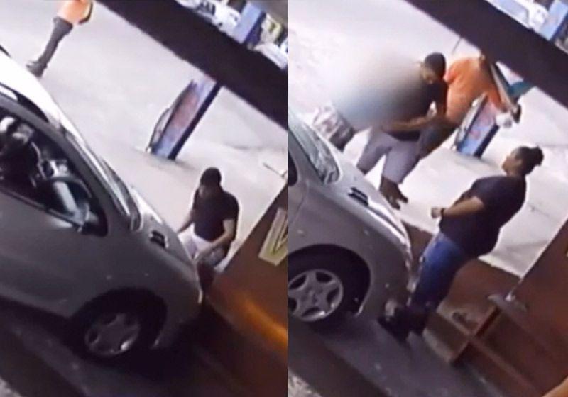 Atropelado consola motorista idoso que chorou após acidente: vídeo