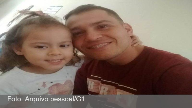 Pai desabafa após filha de 4 anos morrer engasgada com comida: 'Não foi descuido'