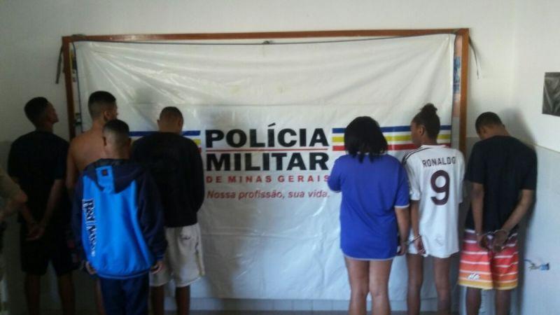 Grupo de São João Nepomuceno é detido pela PM na Operação 'Desmanche' em Bicas, MG