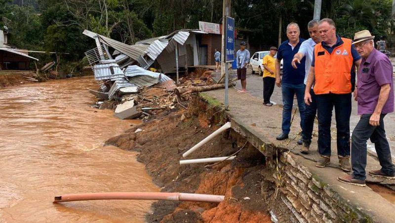 Defesa Civil mantém alerta de risco alto para chuvas no ES