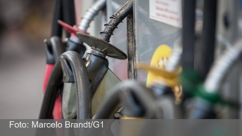 Preço da gasolina sobe pela 6ª semana seguida nos postos
