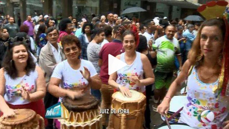 Batuque Folia convida para abertura do carnaval em Juiz de Fora