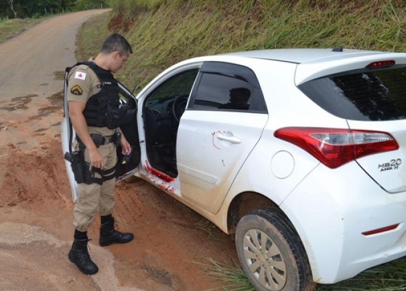 Bandido é morto após tentar assaltar motorista de aplicativo na BR-116 em Muriaé