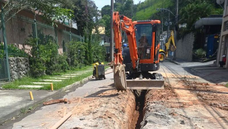 Cesama inicia remodelação de redes de água no Bairro Bom Pastor em Juiz de Fora