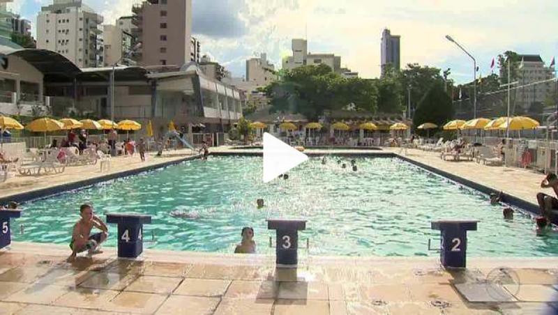 Verão aumenta movimento nas piscinas dos clubes de Juiz de Fora